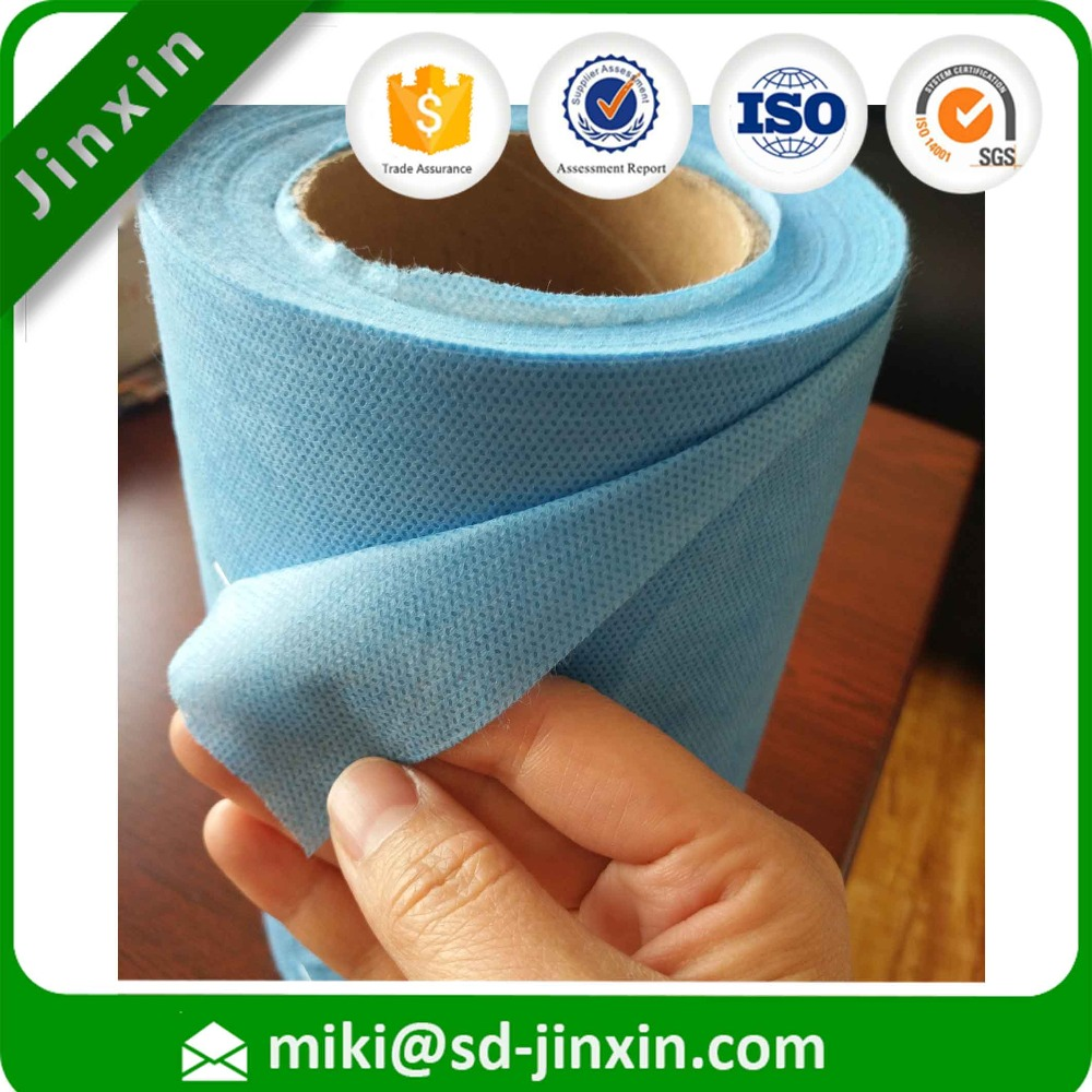 SMS nonwoven fabric raw material used in diapers ,sanitary napkin surface ,sanitary napkin coated polymer products
