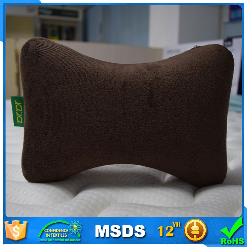OEM&ODM memory foam bone shape car pillow auto headrest for car
