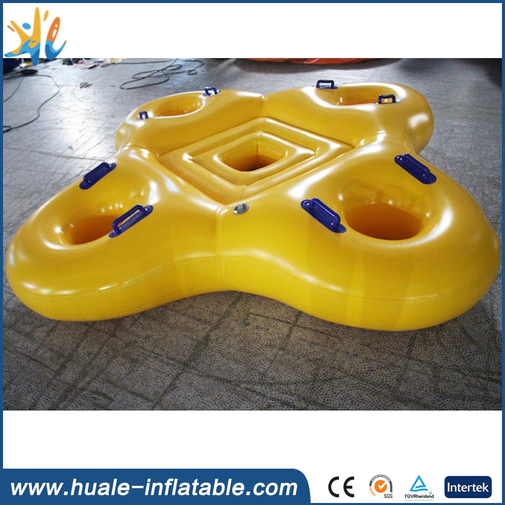 Inflatable cheap water floating giant inflatable pool float