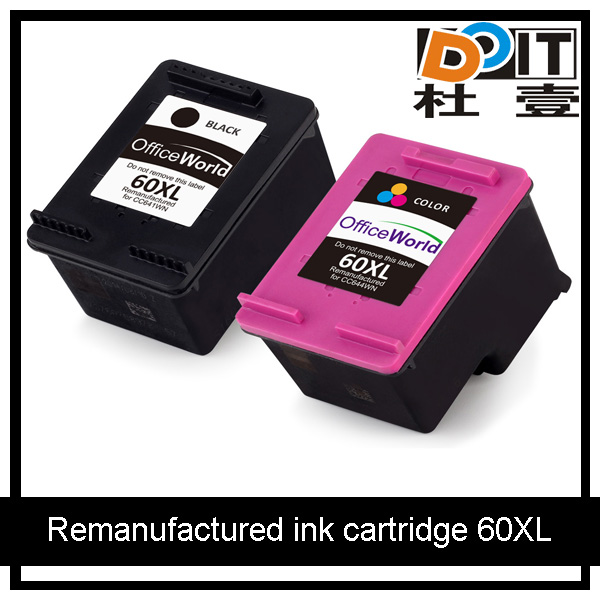 Deskjet F4480 F4280 remanufactured ink cartridge for HP 60XL