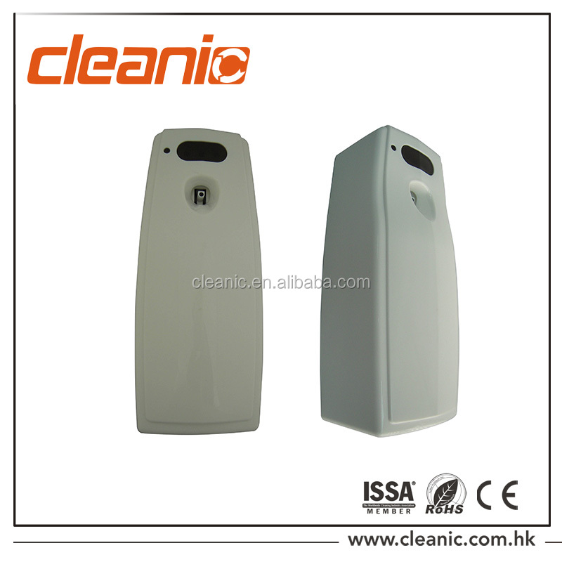 Wall mounted PP Plastic fragrance CE RoHS LED aerosol dispenser