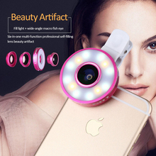 2018 hot sale Internet celebrity model good led selfie ring light for mobile phone with clip,portable and easy to carry