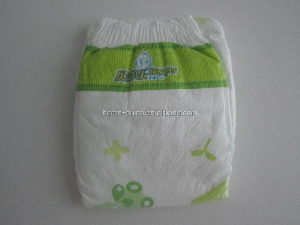 bright-colored printed disposable sleepy baby diaper