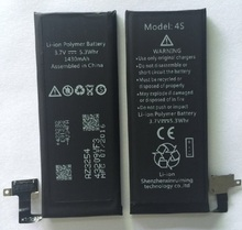 Factory manufacture high quality Mobile phone gb/t 18287-2000 battery for iphone 4S