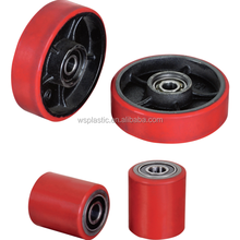 factory customized low price polyurethane Rubber roller and wheel coating