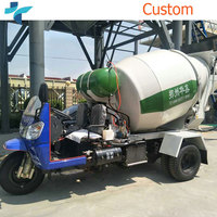 Factory Direct Sell Mini Mobile 1m3 Truck Mounted Concrete Mixer
