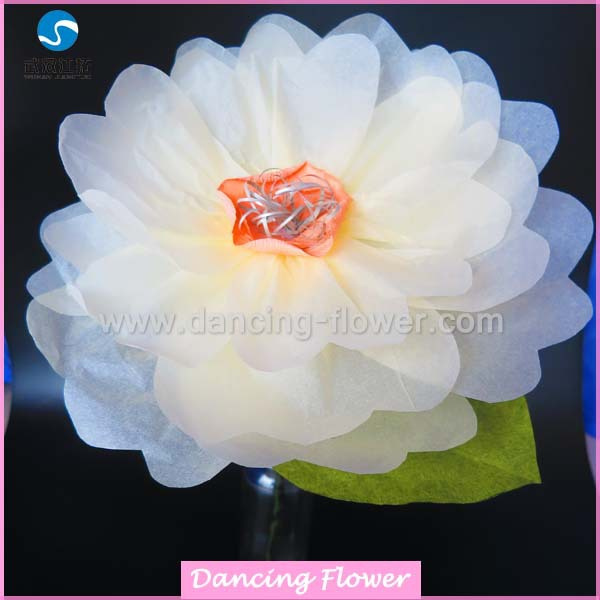 Artificial Giant Wedding Decoration Flowers With Stand