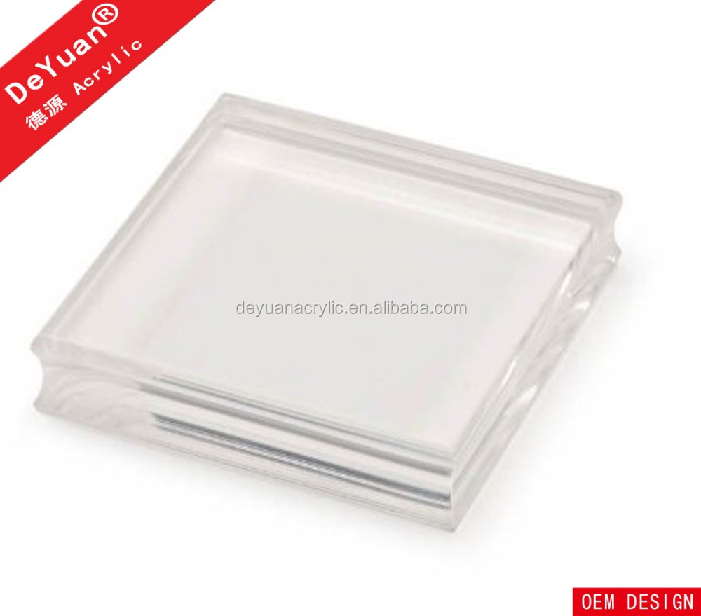 Clear Acrylic Stamp Block Wholesale