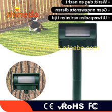 Hot Sale Outdoor Sound Wave Solar power mole repellent for lawn lights