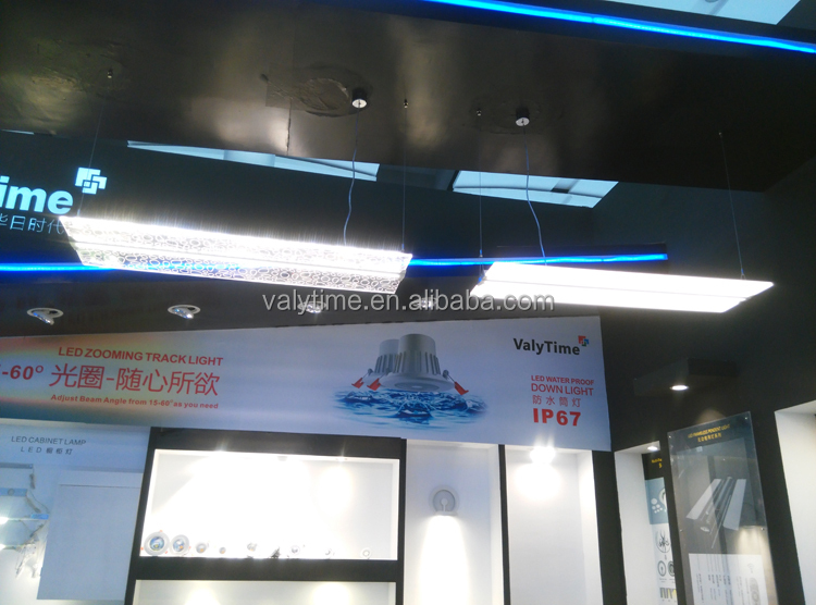 hanging pendant led linear lighting up and down emiting,dimmable led linear light