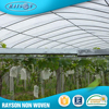 Alibaba 100% Polypropylene Agricultural Product Nonwoven Greenhouse Covering