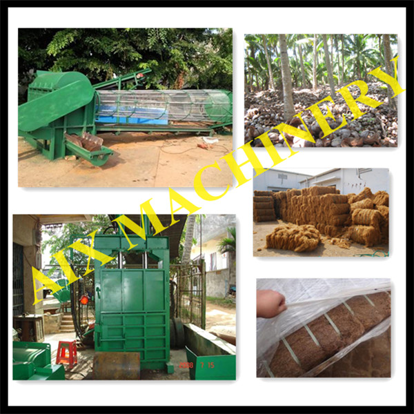 Factory Supply coconut fiber machine,coconut fiber making machine,coconut husk fiber machine