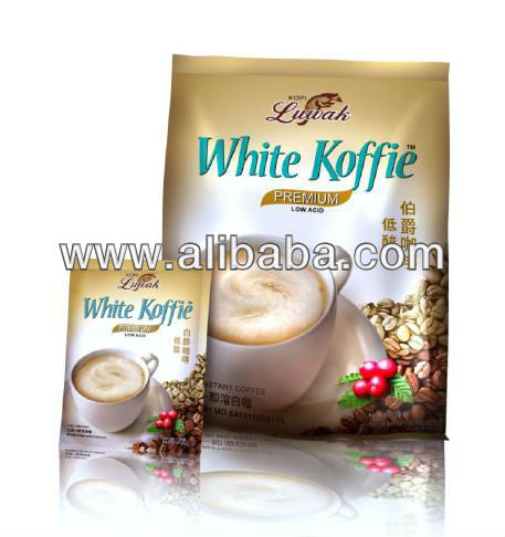 3 in 1 instant Low Acid White koffie