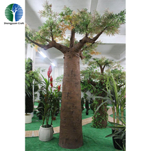 Landscape large outdoor artificial africa Baobab tree for sale