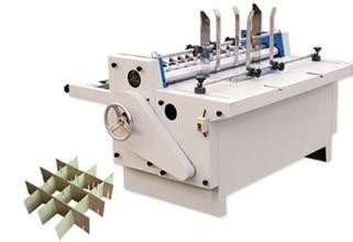 Carton clapboard machine for corrugated cardboard making machine,automatic partition slotter