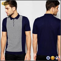 Wholesale custom Mature man's shirt design Polo collar short sleeve mens polo shirt Slim fit polo t-shirt manufacturer in lahore