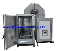 outdoor powder coat spray booth paint gas oven
