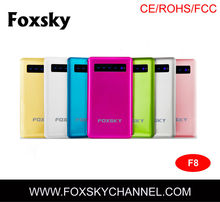 New portable USB travel mobile phone battery charger