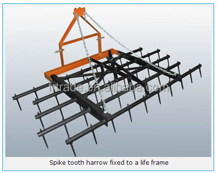 largest manufacturer of farm equipments in China(drag harrows/chain harrows)