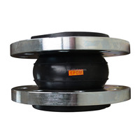 Henan Liwei Brand GJQ(X)-DF Single Sphere Flexible Connector with Flange