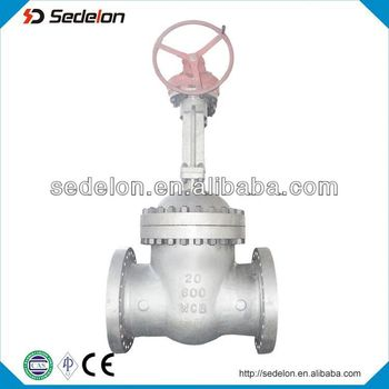 Gear operated Big Size API 600 Rising Stem Gate Valve