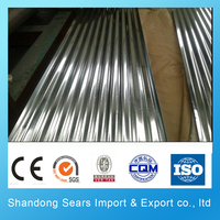 H260BD+Z corrugated galvanized steel sheet asbestos free roofing sheet