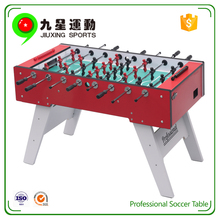 soccer game table with 2.2mm thickness hollow rods newest red 55 baby foot game table