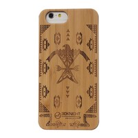 Hotsales Handmade Fancy Phone Cover For iphone 6 Custom Bamboo Case For Apple