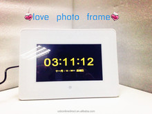2015 Hot Selling multifunction 7 inch digital photo frame love photo frame