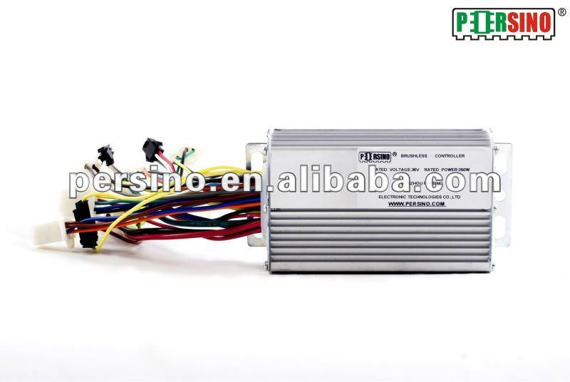 36v350w brushless dc motor controller for electric motorcycle /electric scooter and electric bicycle