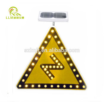 Portable outdoor Worksite / Road work safety sign