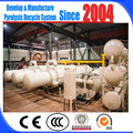 No pollution fully waste plastic pyrolysis plant to oil with free installation