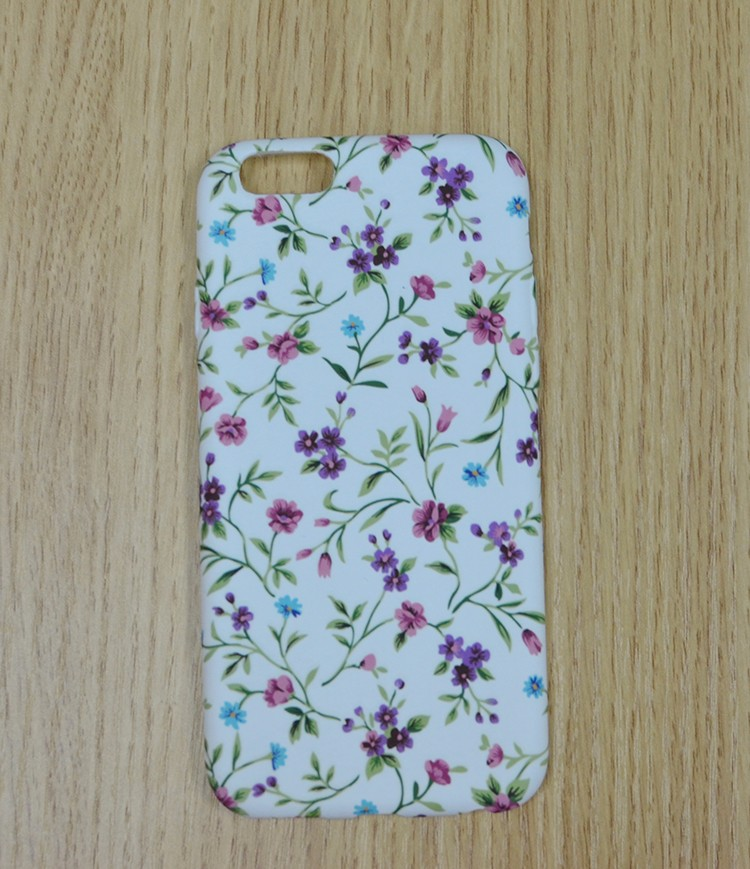 Mobile phone shell tpu+pc matte, 2d sublimation pc phone case