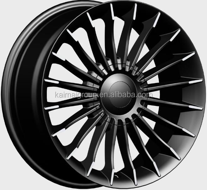 17*7.0 inch black full painted face car cast <strong>wheel</strong>