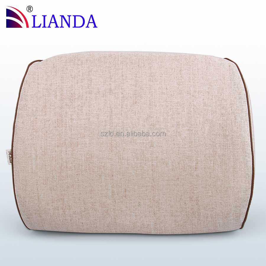 Luxury Memory Foam Lumber Back Cushion Breathable Outer Cover Office Home Computer Chair