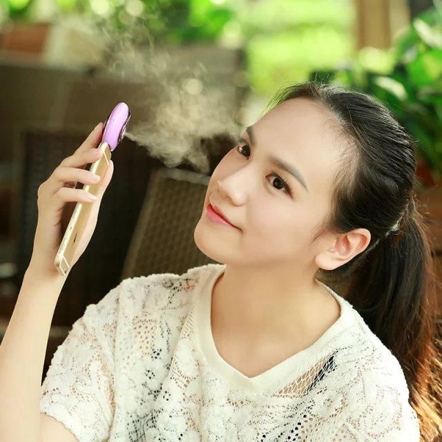 Free sample!portable battery operated mini humidifier for phone