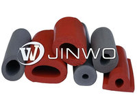 Sponge Silicone Sealing strip/silicone strips roll