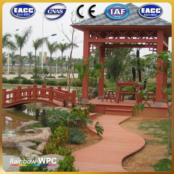 customized wpc handrail column in China