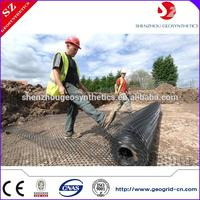 ux geogrid with bitumen coated geogrid china