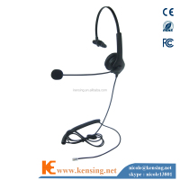 New Call Center Headset With RJ