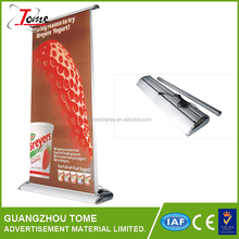 Waterproof material electric roll up banner stand display for advertising