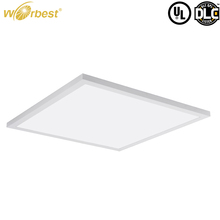 Ceiling Lighting 2x2ft Dimmable Warm White Led Panel Light with Bulit-in Power for Junction Box or Suspending Mount