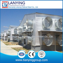 prefabricated easy to install chicken farm