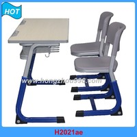 factory cheap sale Educational school furniture classroom wooden desk and chair Sets