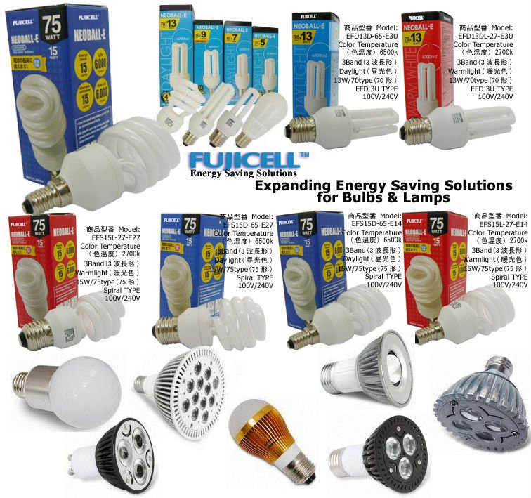 Fujicell Energy Saving Lighting Solutions From Japan