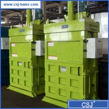 Leading factory cardboard baler baling press machine