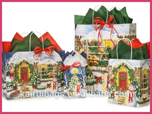 Vente chaude de no l sacs cadeaux en papier fabricant sacs d 39 emballage id - Vente cadeau de noel ...
