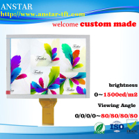 2016 8.0 inch LCD display RGB interface and sunlight readable LCD module Long time supply and No MOQ