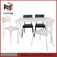 chinese modern cheap dining restaurant table and chair prices