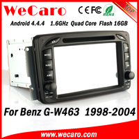 Wecaro WC-MB7507 Android 4.4.4 2 din for benz g w463 navigation system 1998 - 2004 mirror link